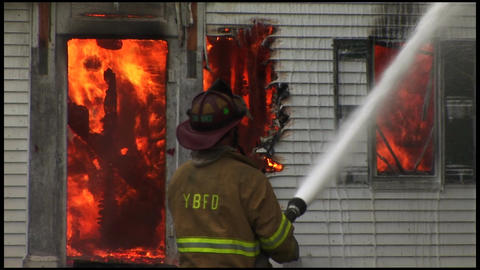 housefire and firefighters 6 6 Footage