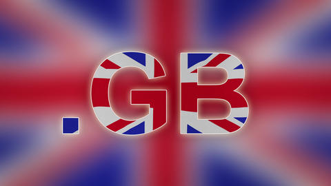 GB - Internet Domain Of United Kingdom stock footage