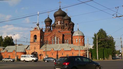 Vvedensky convent in Ivanovo. Russia Footage