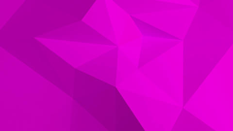 Abstract 3d pink background with polygonal pattern Animation
