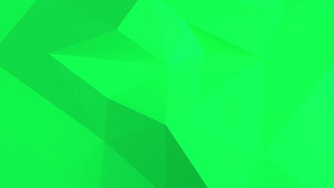 Green Abstract 3d background with polygonal pattern Animation