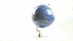 World globe spinning 1 Live Action
