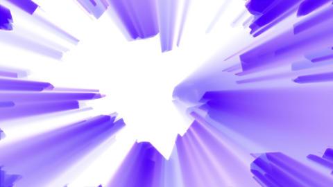 Purple Aggressive Shine Abstract Burst Background Loop 1 Animation