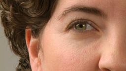 senses white female 30s 1 3 Footage
