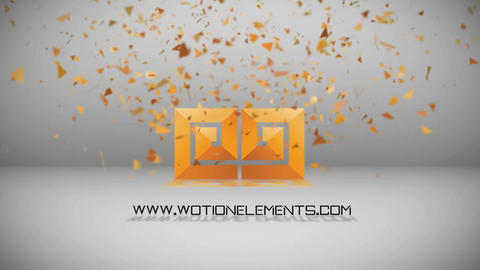 LOGO PIECES After Effects Template