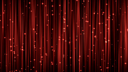 Stars Stage Curtain stock footage