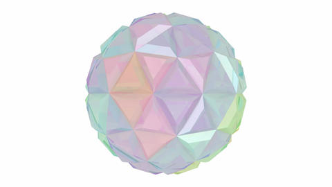 Colorful abstract sphere Animation