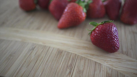 Views of fresh berries in a kitchen in 4K (2 of 5) Footage