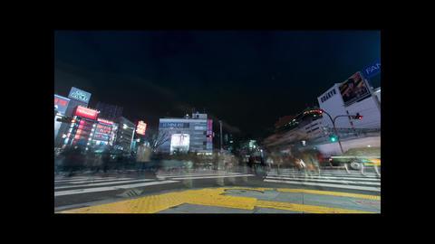 Time lapse in Shinjuku Tokyo Japan4 K UHDTV 30 P Footage