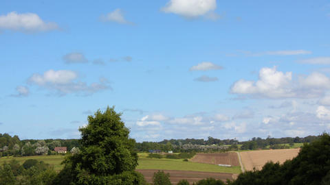 Countryside Panoramic Timelapse 01 Footage