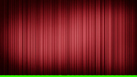 Opening and closing curtain Stock Video Footage