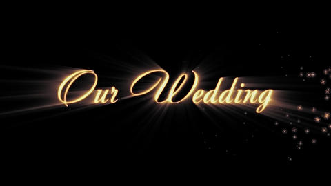 Our Wedding Animation