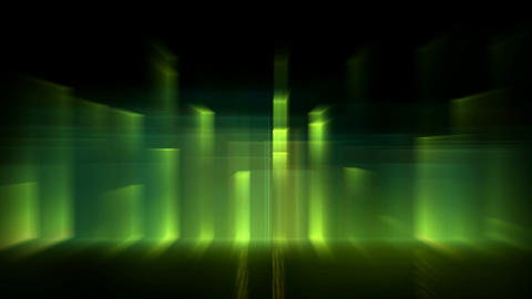 Music rhythm,green ray light,blur laser... Stock Video Footage