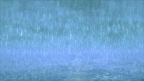 Rain falls Animation