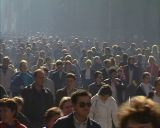many peoples walk Footage