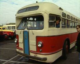 old bus Stock Video Footage