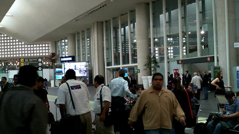 Mexico City Benito Juarez Airport Terminal 2 03 Footage
