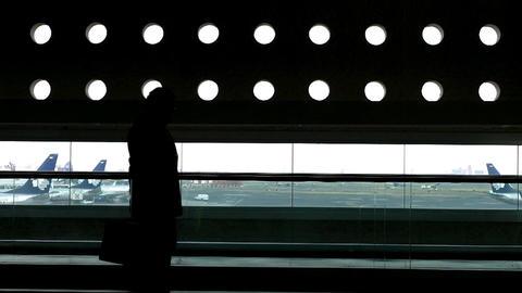 Mexico City Benito Juarez Airport Terminal 2 05 Footage