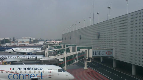 Mexico City Benito Juarez Airport Terminal 2 07 Footage