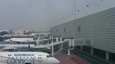 Mexico City Benito Juarez Airport Terminal 2 07 Footage