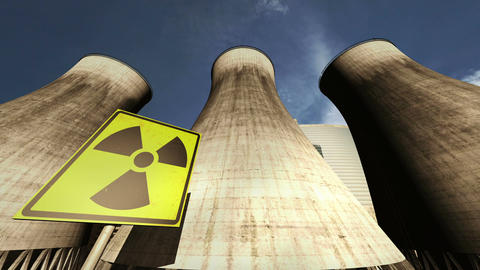 Nuclear Station Cooling Towers Timelapse v2 09 Animation