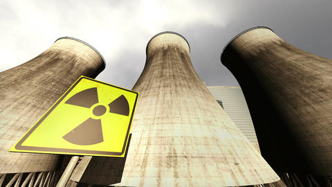 Nuclear Station Cooling Towers Timelapse v2 11 Animation