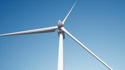 Wind Turbine 02 loop Stock Video Footage