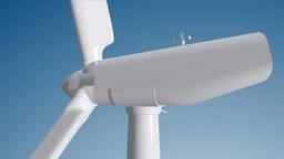 Wind Turbine 04 loop Stock Video Footage