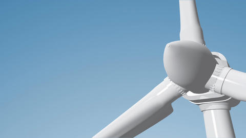 Wind Turbine 06 loop Stock Video Footage