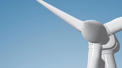 Wind Turbine 06 loop Animation