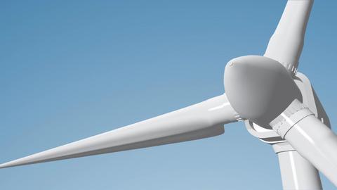 Wind Turbine 06 loop Stock Video Footage