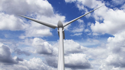 Wind Turbine Timelapse 01 Stock Video Footage