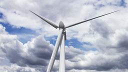 Wind Turbine Timelapse 01 Stock Video Footage