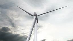 Wind Turbine Timelapse 03 Stock Video Footage