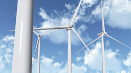 Wind Turbines 05 Stock Video Footage