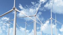 Wind Turbines 07 Stock Video Footage