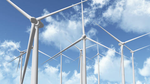 Wind Turbines 07 Animation