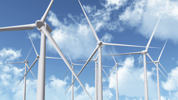 Wind Turbines 07 Stock Video Footage