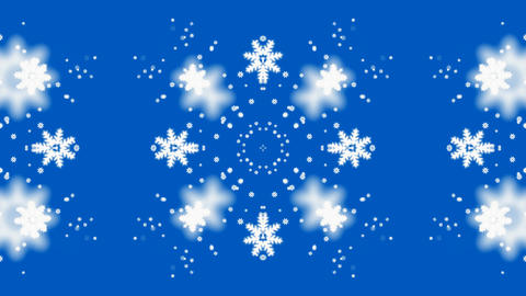 falling snowflake shaped flower pattern,chrismas,xmas,lace,wedding background.fresh,clean Animation