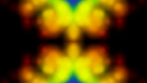 Psychedelic religon flower pattern,wedding... Stock Video Footage