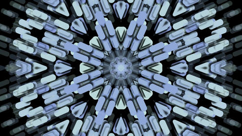 paper shaped flower fancy pattern,kaleidoscope,paper... Stock Video Footage