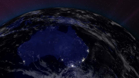 Earth from Space 06 Australia Animation