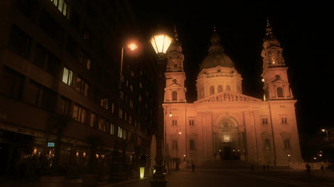 St Stephen Basilica Budapest 04 Stock Video Footage