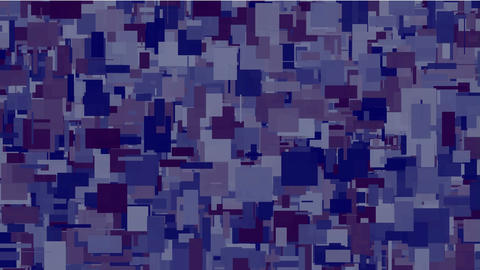 abstract square noise background,break debris... Stock Video Footage