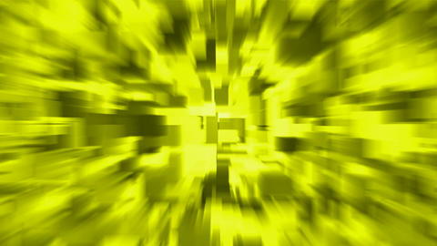 yellow blur light rays,computer web background,tech energy,debris,particle,symbol,dream,vision,idea Animation