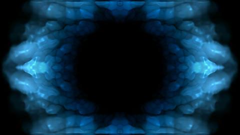blue flower pattern,Oriental lotus... Stock Video Footage