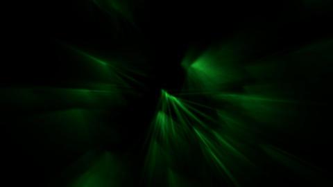 green ray light,flare fiber optic,aurora,seabed... Stock Video Footage