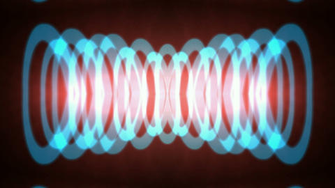 blue circle pulse,round laser,enery tech background.Sound waves,trap,ring,sleeve,spring,laboratory,p Animation