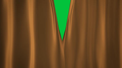Champagne Gold curtains transition Stock Video Footage