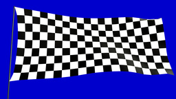 checkered flag A Animation